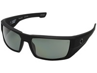 Spy Optic Dirk Soft Matte Black Happy Gray Green Polar Sport Sunglasses