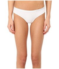 Emporio Armani Essential Stretch Cotton Brasilian Brief White