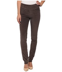 Jag Jeans Nora Pull On Skinny 18 Wale Corduroy Pavement Women's Casual Pants Gray