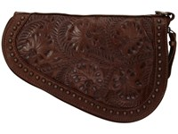 American West Padded Gun Case Chestnut Brown Bags