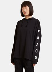 Alyx Chaos Hooded Sweater Black