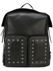Jimmy Choo 'Lennox' Backpack Black