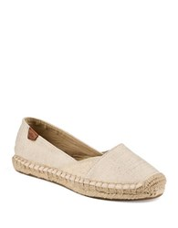 Sperry Cape Espadrille Flats Gold