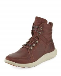 Timberland Limited Edition Flyroam Leather Sport Hiker Boot Brown