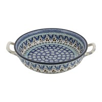 Bunzlau Castle Round Oven Dish Marrakesh Medium