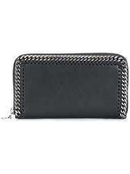 Stella Mccartney Falabella Top Zip Wallet Black