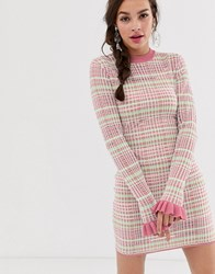 Finders Keepers Luca Bodycon Mini Dress Pink