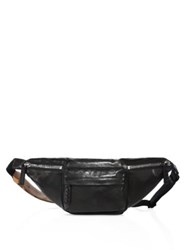 Mcm Killian Leather Sling Bag Black