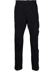 C.P. Company Cp Straight Leg Trousers Blue