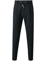 Eleventy Drawstring Trousers Black