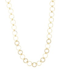 Lana Multi Circle Necklace With Diamonds In 14K Gold
