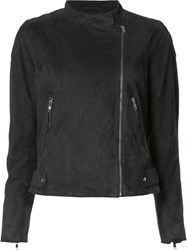 Just Female Classic Biker Jacket Grey