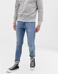Tom Tailor Skinny Fit Jeans Inlight Stone Wash Blue