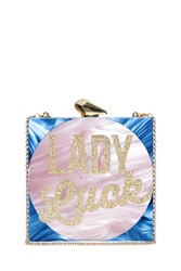 Kotur Lady Luck Clutch Blue