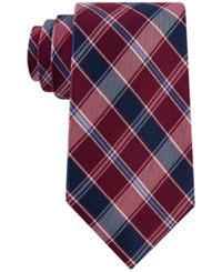 Club Room Men's Traditional Plaid Tie Only At Macy's Red
