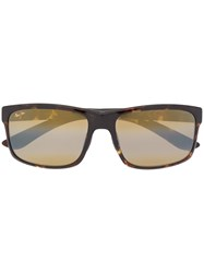 Maui Jim Oversized Sunglasses Brown