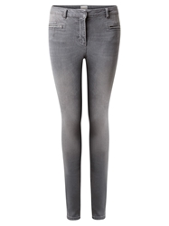 East Zip Pocket Skinny Jeans Ash
