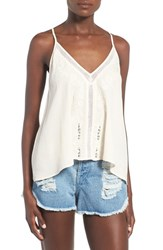 Women's Astr Embroidered Tie Back Tank