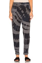 Raquel Allegra Easy Pant In Blue Gray Ombre And Tie Dye Blue Gray Ombre And Tie Dye
