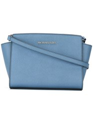Michael Kors Jet Set Shoulder Bag Blue