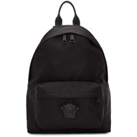 Versace Black Medusa Backpack