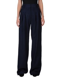 Richard Nicoll Casual Pants Dark Blue