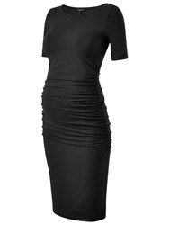 Isabella Oliver Ruched T Shirt Dress Black