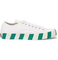 Visvim Skagway Canvas Sneakers White