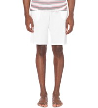 Derek Rose Basel Jersey Shorts White