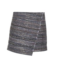 Diane Von Furstenberg Austyn Tweed Miniskirt Multicoloured