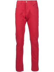 3X1 Skinny Jeans Red