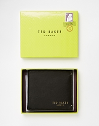 Ted Baker Antony Leather Billfold Coin Wallet Black