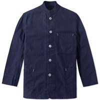 Nigel Cabourn X Lybro Tunic Work Jacket Black