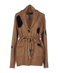 People Knitwear Cardigans Women Camel