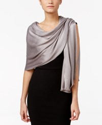 Inc International Concepts Satin Wrap Only At Macy's Grey