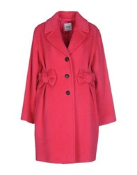 Moschino Cheap And Chic Moschino Cheapandchic Coats And Jackets Coats Women Fuchsia