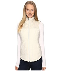The North Face Pseudio Vest Moonlight Ivory Heather Moonlight Ivory Women's Vest White