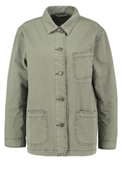 Teddy Smith Varsity Summer Jacket Khaki