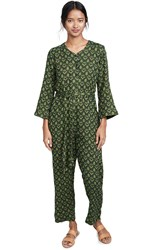 Ace And Jig Jacob Jumpsuit Fern