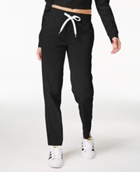 Material Girl Active Juniors' Jogger Pants Created For Macy's Noir