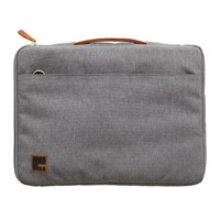 Kreafunk Asleeve Laptop Case Pu Leather Canvas Light Grey