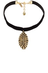 Vanessa Mooney The Black Velvet Western Charm Choker