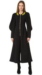 Natasha Zinko Long Sleeve Jumpsuit Black