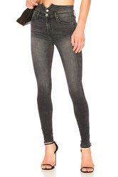 Black Orchid Karlie Button Front Skinny Easy Rider