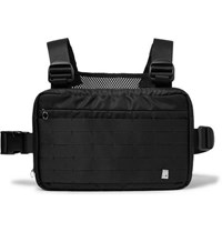 Alyx Webbing Trimmed Shell And Mesh Harness Bag Black
