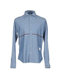 The Editor Shirts Shirts Men Blue