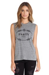 Brian Lichtenberg Party Animal Muscle Tee Gray
