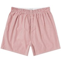 Sunspel Classic Boxer Short Red