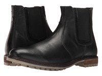Hush Puppies Beck Rigby Black Leather Men's Boots