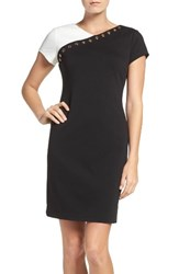 Ellen Tracy Women's Ponte Sheath Dress
